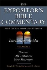 The Expositor's Bible Commentary: Expositors Bible Com V1 Intro Articles Vol. 1…