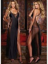 Women Sexy Lingerie Lace Dress Nightwear Babydoll Sleepwear Underwear  M 5Q-01
