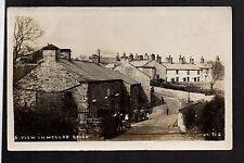 Mellor Brook Village near Blackburn - real photographic postcard