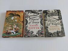 Naomi Novik Lot Of 3x Hardback Books