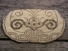 Vintage Beaded Purse Microbead Evening Bag Czech Glass Beads Butterfly Beadwork