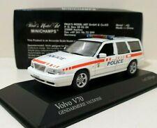 MINICHAMPS 1/43 Volvo V70 Gendarmerie Vaudoise Edition Limited 1824 Pièces