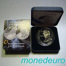 FINLANDIA 2006. 10 EUROS PLATA PROOF. J.V. SNELLMAN