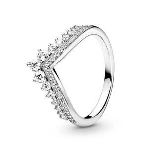PANDORA Princess Wish Women's Ring - Sterling silver, Size 9