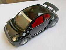 """1:32 scale Volkswagen New Beetle RSI Black Die Cast Car model 12,5 cm / 4.9"""""""