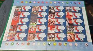 GB - 2002 -  Smiler Sheet LS8 ''WORLD CUP''. MNH - Superb