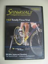 Cycling Indoor Dvd workout Spinervals 14.0 Totally Time Trial bi triathlon spin