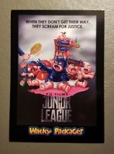 Junior League Red Ludlow 07/25 2018 Topps Wacky Packages Go to the Movies