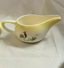 Paden City Provincial Rooster Gravy Boat- NEW!