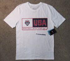 NWT Nike Dri Fit USA Basketball Shirt Sz M 100% Authentic US 2016 Olympics Rio