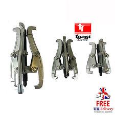 "Set of 3"" 4"" 6"" Inch 3 Leg Jaw Reversible Puller Gears Sprockets Bearings Pulley"