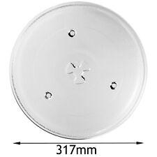SAMSUNG Genuine Microwave Turntable Glass Plate 3 Lug 317mm Diameter