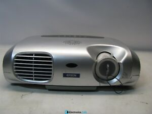 Epson EMP-S1H 500:1 1400 Lumens LCD Video Projector w/Lamp *No Remote*