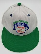 Vintage New Orleans Zephyrs Pro-Line Fitted Hat Deadstock Rare 6 1/2 90's NWOT