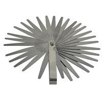 Fühlerlehre Fächerspion Ventillehre 32 Blatt 0,03 bis 1,00 mm 0012 -040 Inch