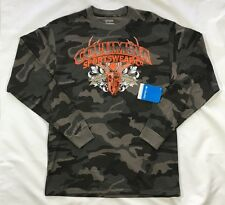 NWT Men's Columbia Long Sleeve Camouflage T-Shirt-Size M