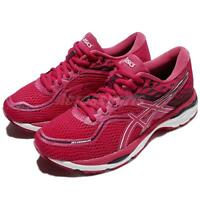 Asics Gel-Cumulus 19 Cosmo Pink White Women Running Shoes Sneakers T7B8N-2001