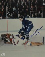 Norm Ullman  Hand Signed Autographed 8x10 Photo Detroit Red Wings W/ GA COA