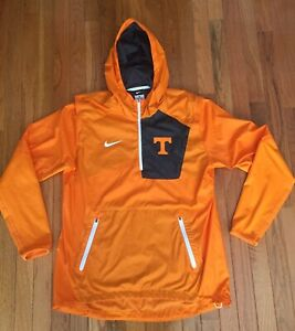 Tennessee Volunteers Nike 1/4 Zip Hooded Windbreaker Jacket - Women's Medium