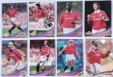 MANCHESTER UNITED 2000 Merlin Premier Gold Complete Team Card Set BECKHAM +