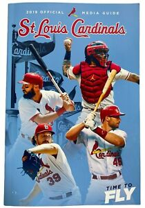 St. Louis Cardinals Baseball Vintage Sports Media Guides 2019 Official
