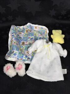 "Madeline 8"" Eden Doll, 'Sleepover' Fashion Accessories Pack"