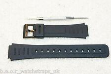 Rubber strap compatible with Casio 17mm CMD10 CMD20 CMD40 DBX103 EXP10 DBC30