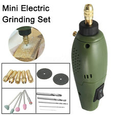 18Pcs Mini Electric Grinding Set Drilling Machine Drill Polishing Wood Carving