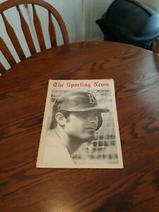 MARCH 29,1969-THE SPORTING NEWS-TONY CONIGLIARO OF THE BOSTON RED SOX(EXC)