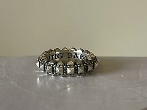 """King Baby 6.5"""" Sterling Silver Ring"""