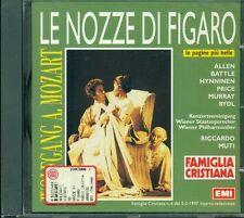 Mozart - Le Nozze Di Figaro (James Levine/Von Otter) Deutsche Grammophone Cd Vg