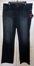 NWT  Ava & Viv Bootcut Super Stretch Jeans Size 18W
