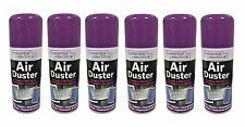 2x Lazer 200ml Compressed Air Duster Spray Can Cleans Protects Laptops Keyboards