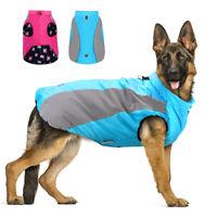 Hundemantel Wasserdicht Hundejacke Warme Wintermantel Reflektierend Regenschutz