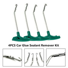 4PCS Cold Car Headlight Housing Open Tool Cover Glue Sealant Remover Kit Durable