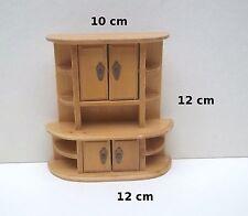 buffet en bois miniature,maison de poupée,vitrine,meuble bois, ****B7