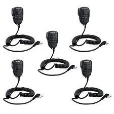 5pcs Retevis 2-PIN Remote Speaker Microphone for RT21/ H777/UV5R/Kenwood TK-208