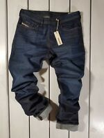 NEW DIESEL MEN'S JEANS BUSTER 0844C REGULAR SLIM TAPERED STRETCH