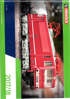 HORNBY ARNOLD N:160 2017/18 CATALOGUE  EX COND