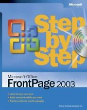 Microsoft® Office FrontPage® 2003 Step by Step, Solutions, Online Training, Inc.