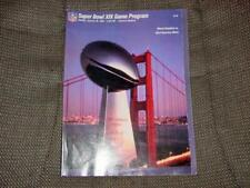 Super Bowl XIX Program : 1985 Miami Dolphins vs San Francisco 49ers 1-20-85 NEW