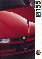 Alfa Romeo 155 Q4 1992 Swiss market (Italian) full colour sales brochure