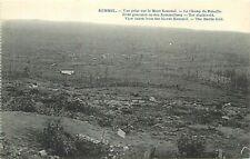 View taken from the Mount Kemmel the battle field