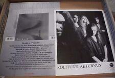SOLITUDE AETURNUS - Adagio - 8x10 Promotional Photo & 2-sided One Sheet