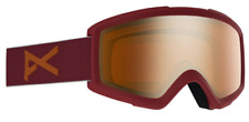 New Anon Helix 2.0 Snow Goggles Maroon/Amber Lens