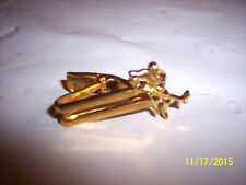 VINTAGE HOCKEY PLAYER TIE Clip - Tie Bar - Tie Clasp -