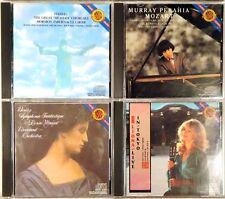 LOT (4) CDs CBS DIGITAL JAPAN Smooth Cases HANDEL Perahia BOYD Maazel BERLIOZ