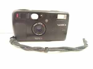 Yashica T4 Super Weatherproof 35mm Film Camera with Carl Zeiss 35mm F3.5 Lens