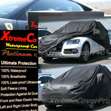 2017 2018 2019 AUDI Q5 SQ5 WATERPROOF CAR COVER W/MIRROR POCKET - BLACK