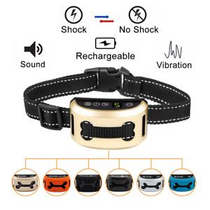 Automatic Dog Bark Collar - E Collar - Smart Dog Training Rechargable Waterproof
